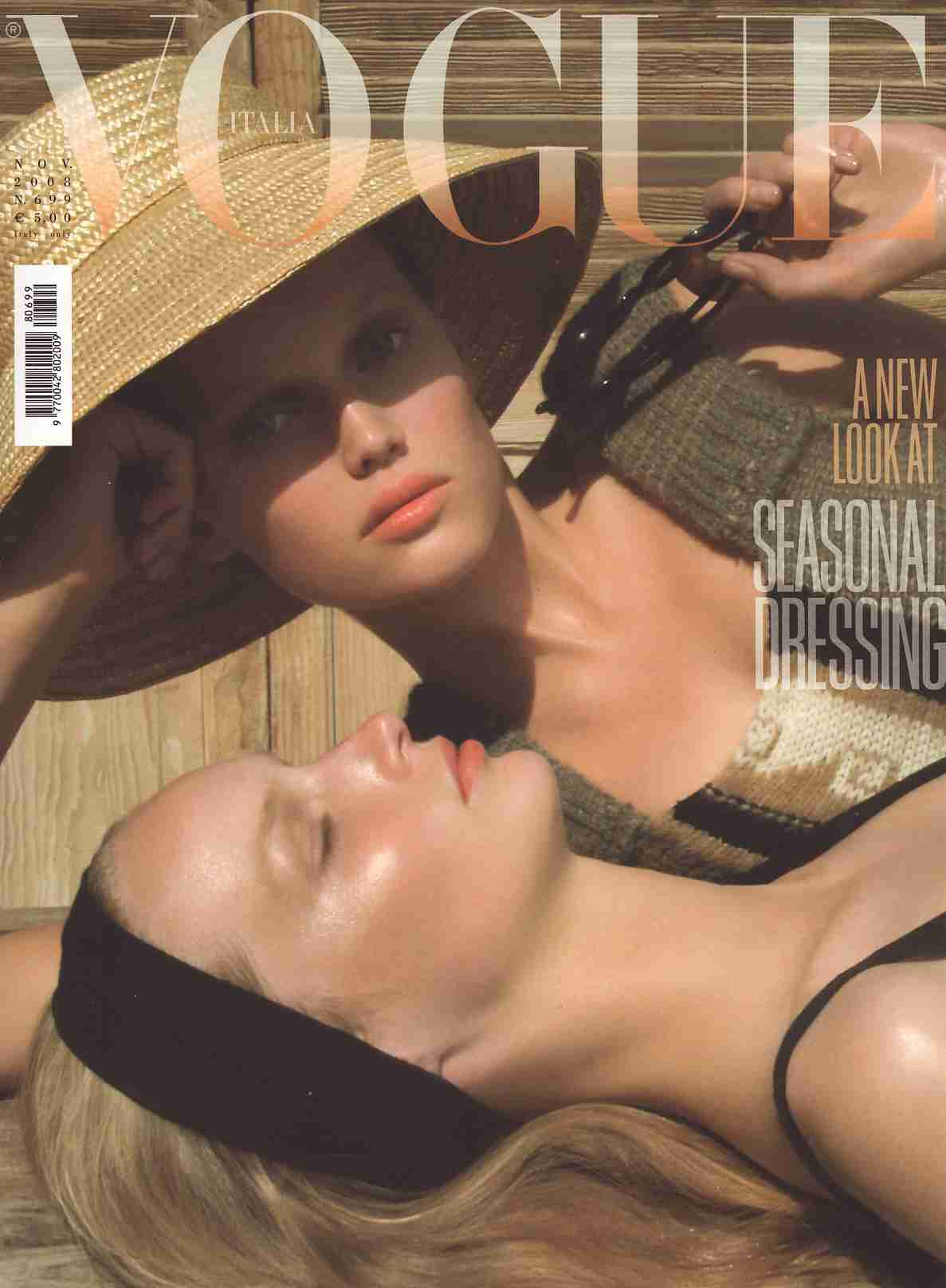 Thefashionspot vogue italia august 2008
